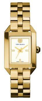 Tory BurchTory Burch Dalloway Goldtone Stainless Steel Bracelet Watch