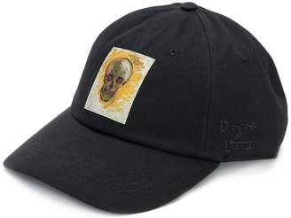 Vans skull patch baseball cap