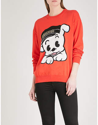 Moschino Pudgy cotton jumper