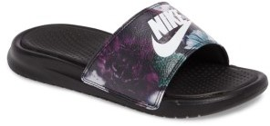 Women's Nike 'Benassi Just Do It Ultra Premium' Slide Sandal $45 thestylecure.com