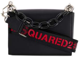 DSQUARED2 cable chain tote bag