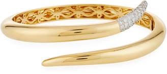 Roberto Coin 18k Gold Diamond Snake Bangle