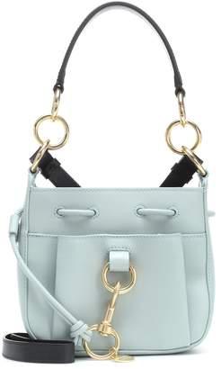 See by Chloe Tony Mini leather bucket bag