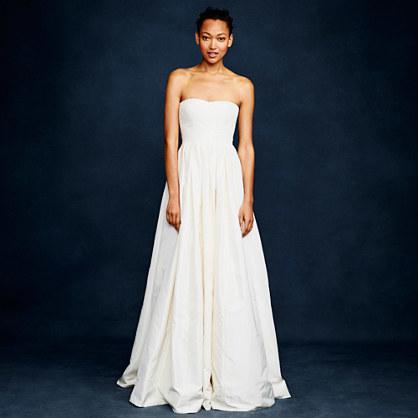 J.Crew Marlie gown