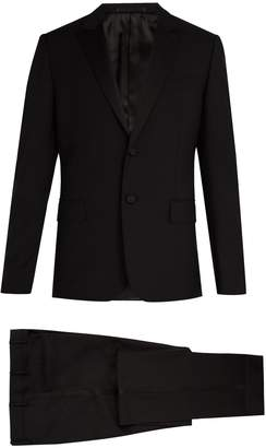 Valentino Satin-lapel wool and mohair-blend tuxedo