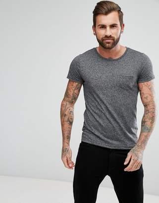 Lee Jeans Salt and Pepper Pocket T-Shirt