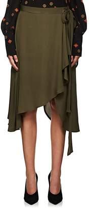J.W.Anderson Women's Silk Georgette Asymmetric Skirt