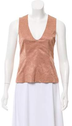 Calvin Klein Collection Jacquard Sleeveless Top w/ Tags