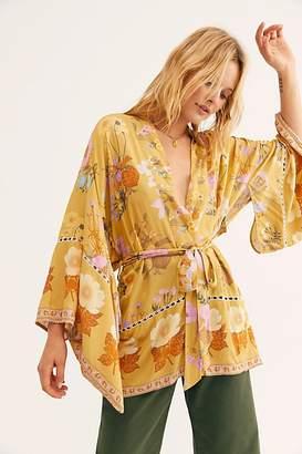Free People Wild Bloom Short Robe