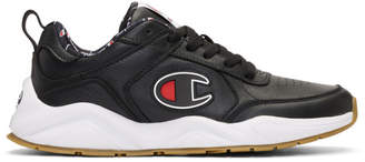 Champion Reverse Weave Black 93EIGHTEEN Big C Sneakers