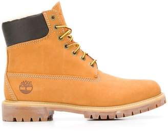 Timberland lace-up work boots