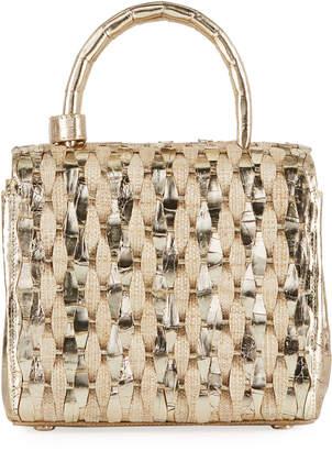 Nancy Gonzalez Toto Small Woven Top-Handle Bag