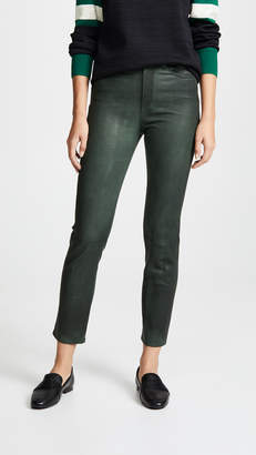 Rag & Bone Ankle Leather Cigarette Pants