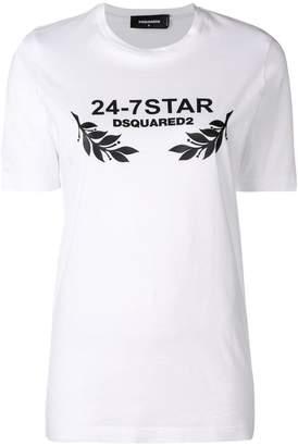 DSQUARED2 logo patch T-shirt