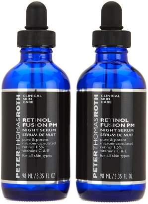 Peter Thomas Roth 3.35-oz Retinol Fusion PM Serum Duo