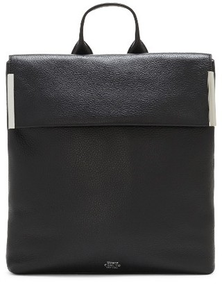 Vince Camuto Tina Leather Backpack - Black $248 thestylecure.com