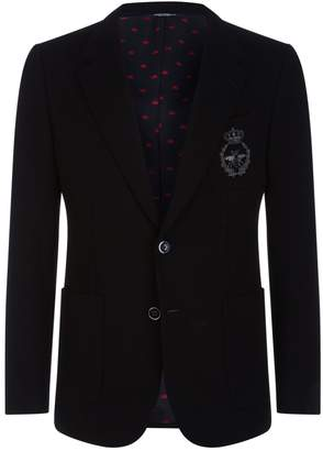 Dolce & Gabbana Bee Crest Blazer