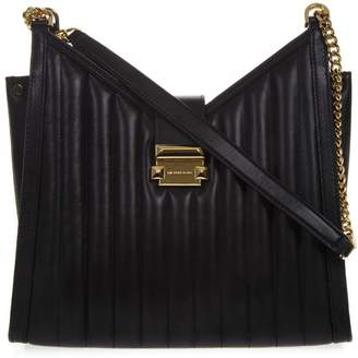 MICHAEL Michael Kors Black Whitney Quilted Leather Bag