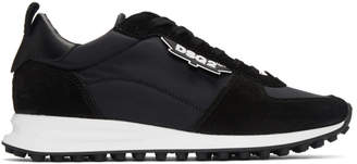 DSQUARED2 Black New Runner Hiking Sneakers