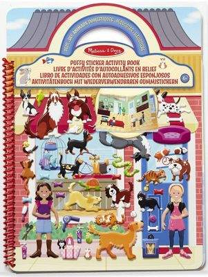 Melissa & Doug Puffy Sticker Activity Book - Pets Place