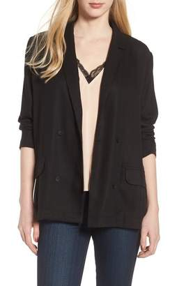 Trouve Drapey Double Breasted Blazer