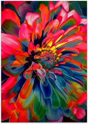 United Artworks Hypnotic Bloom Canvas