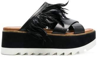 Premiata platform sandals
