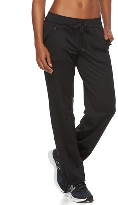 Tek Gear Petite Bungee-Hem Workout Pants
