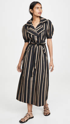 Self-Portrait Self Portrait Tailored Stripe Dress