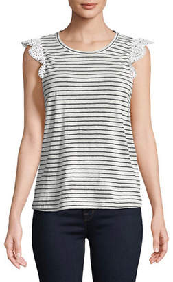 Joie Acenath Striped Tee