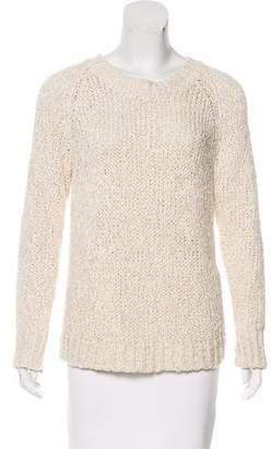 Co Open Knit Sweater