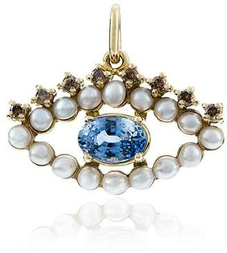 Ileana Makri pearl eye pendant