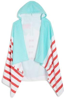 Sailing Kids Hooded Beach Towel