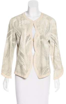 Giorgio Armani Structured Suede Jacket w/ Tags