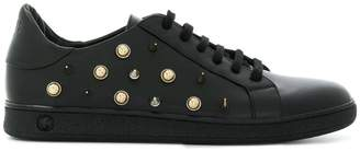 Versus studded lace-up sneakers