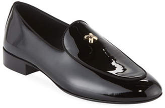 Giuseppe Zanotti Men's X Patent Leather Formal Loafer