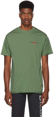 032c Green Workshop Logo T-Shirt