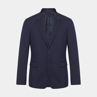 Theory Wool Pin Dot Gansevoort Jacket