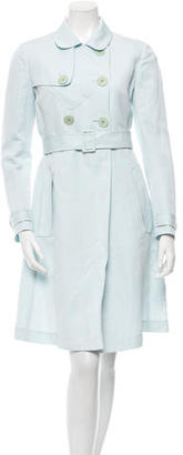 Paul Smith Linen-Blend Trench Coat $95 thestylecure.com