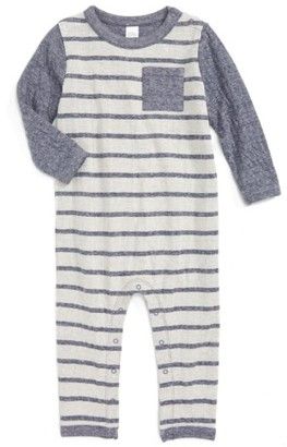 Infant Boy's Nordstrom Baby Double Knit Romper $35 thestylecure.com
