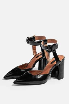 Topshop Womens Graceful Ankle Strap Heels