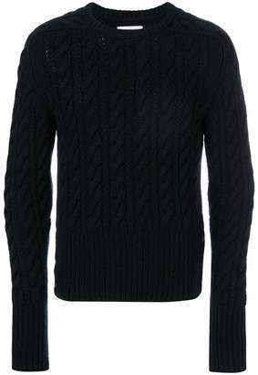 Thom Browne Chunky Cable Cashmere Pullover