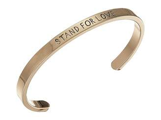 Steve Madden Stand For Love Open Bangle