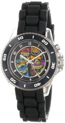 Nickelodeon Teenage Mutant Ninja Turtles Kids' TMN9017 Analog Display Black Watch