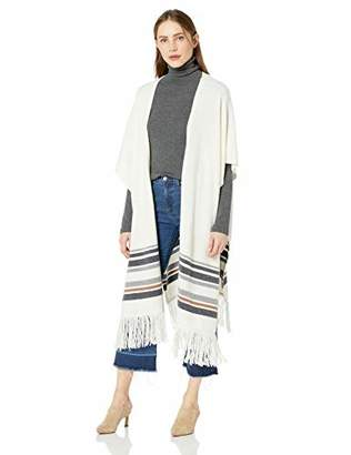 BCBGMAXAZRIA Women's Kiril Long Poncho