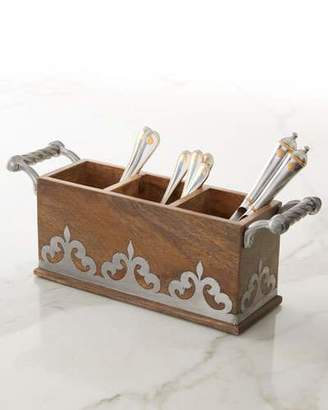 GG Collection G G Collection Heritage Flatware Caddy