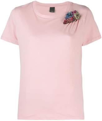 Pinko beaded t-shirt