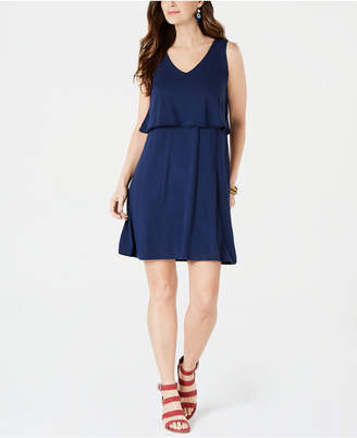Style&Co. Style & Co Petite Tiered Sleeveless Dress