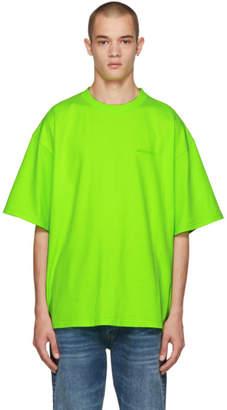 Balenciaga Green Ego Back T-Shirt