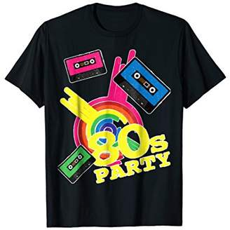 IDEA I Love The 80s Party T-Shirt Funny Retro Lovers Gift